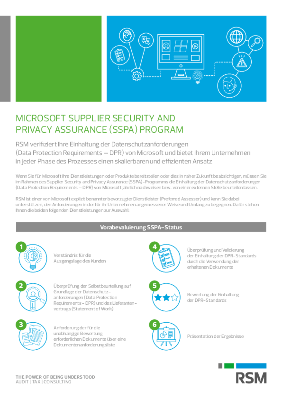 Microsoft Supplier Security and Privacy Assurance (SSPA) Program